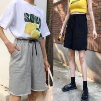 韓國K.W. (預購) 爆推個性直筒休閒運動短褲