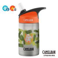 【CAMELBAK】350ml eddy兒童吸管保冰/溫水瓶 叢林野狼(CB1883104040)
