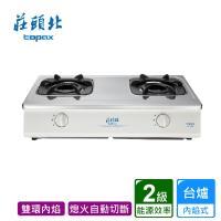 莊頭北_內焰台爐不鏽鋼面板TG-6603S送標準安裝(BA010005)