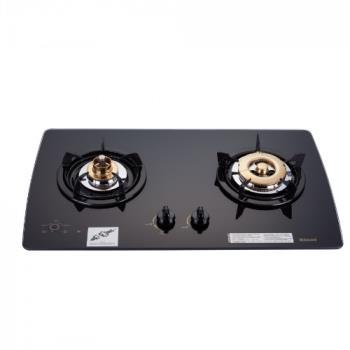 (全省安裝)林內美食家雙面檯面爐黑色與白色瓦斯爐RB-2GMB