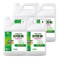妙管家 抗菌洗手乳一加侖 x4瓶 -茶樹精油配方