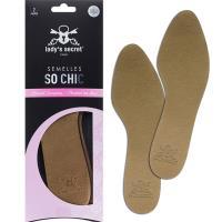 (買一送一回饋) 法國LADYS SECRET 女用足部除臭舒適透氣鞋墊-So Chic (金色) (38/39碼)