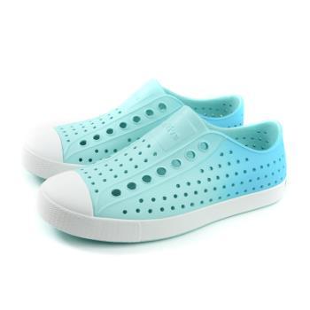 native JEFFERSON OMBRE 懶人鞋 洞洞鞋 防水 水藍色 漸層 男女鞋 11100147-4121 no889