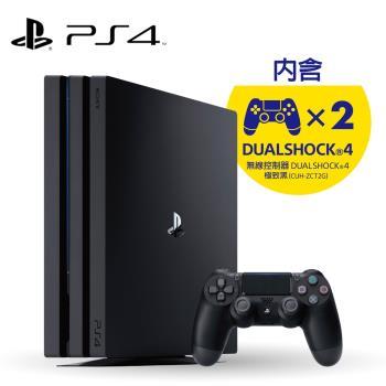 PS4 Pro-1TB 全新CUH-7200系列《極致黑》遊戲主機