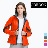 (JORDON) 女款 防風軟殼衣(702) 桔色_網