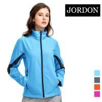 (JORDON) 女款 防風軟殼衣(702) 水藍_網