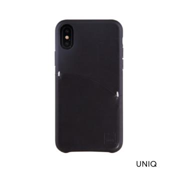 UNIQ Duffle iPhone XR 真皮插卡手機保護殼