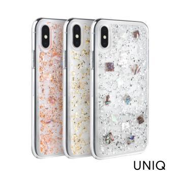 UNIQ Lumence Clear iPhone XR 真正珍珠貝殼雙料防摔手機