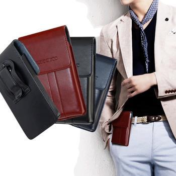CITY for 華為HUAWEI P30 Pro /HTC U19e  帥氣直立手機腰包皮套