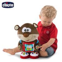 chicco-雙語故事學習玩具熊(英/義)