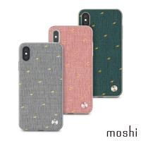 Moshi Vesta for iPhone XS Max 風尚布質感保護背殼