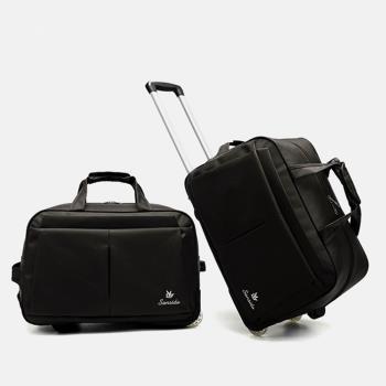 悅生活 GoTrip微旅行--23吋經典細格登機拉桿收納購物車(拉桿袋 行李箱 拉桿包)