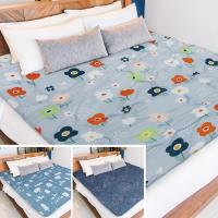 Victoria 鋪棉透氣日式折疊床墊-雙人(多款任選)
