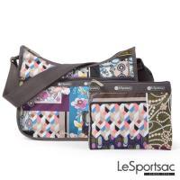 LeSportsac - Standard側背水餃包/流浪包-附化妝包(懷舊篇章)