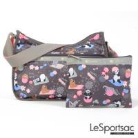 LeSportsac - Standard側背水餃包/流浪包-附化妝包(團圓)