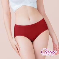 【可蘭霓Clany】天然蠶絲蛋白抗敏M-XL內褲(熱情紅 2152-96)