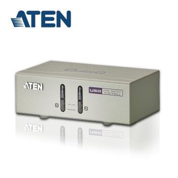 ATEN 2埠 USB KVM多電腦切換器 - 支援喇叭麥克風 (CS72U)