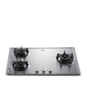 (全省安裝)喜特麗三口爐檯面爐(與JT-GC309S同款)瓦斯爐天然氣JT-GC309S_NG1