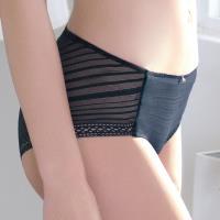【EASY SHOP】零感肌著 低腰平口褲(爵士藍)