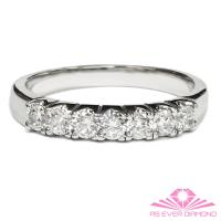 【AS EVER DIAMOND】女王的璀璨人生  0.50克拉鑽石線戒 尊榮典藏