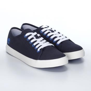 (品牌日-多款下殺)Timberland女款深藍色帆布休閒鞋A1YRB019