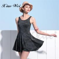 沙麗品牌 時尚流行連身裙泳裝 NO.H18127