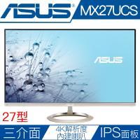 ASUS華碩 MX27UCS 27型IPS面板4K解析度薄邊框液晶螢幕