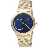 Calvin Klein minimal 大ck簡約時尚腕錶(K3M5255N)35mm