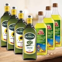 東森超值綜合調理油A組(泰山芥花油3瓶+葵花油3瓶+奧莉塔橄欖油1瓶)(1000ML/瓶)