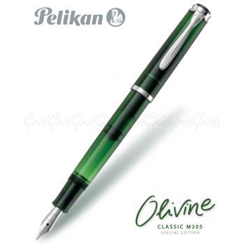 德國Pelikan 限量款 Classic M205 橄欖石綠 鋼筆