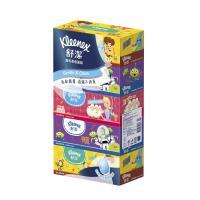 舒潔溫和柔感迪士尼盒裝面紙-玩具總動員140抽x5包x10串