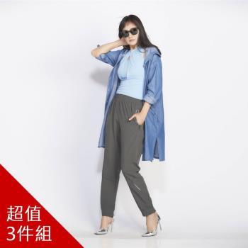 LISIN日本同步纖腿爆瘦機能褲-獨