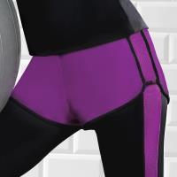 【EASY SHOP】沁涼運動 運動型短褲(寶石紫)