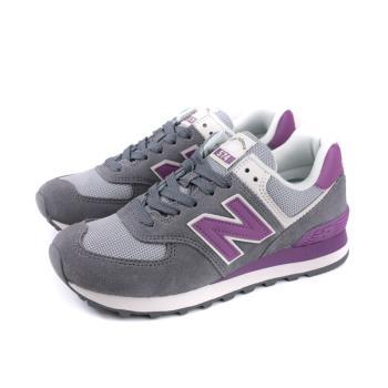 NEW BALANCE 574系列 運動鞋 復古鞋 女鞋 灰紫色 窄楦 WL574LDB-B no662