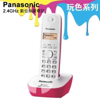 Panasonic 松下國際牌2.4GHz高頻數位無線電話 KX-TG3411 (蜜桃粉)