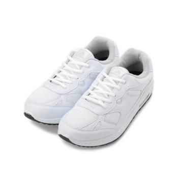 ARRIBA 飛織氣墊運動鞋 白 FA-533 男鞋 鞋全家福