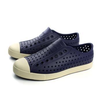 native JEFFERSON 懶人鞋 洞洞鞋 深藍色 男女鞋 11100100-4200 no282