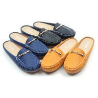 【 cher美鞋】MIT平底金飾舒適便利前包後空穆勒美鞋-黑/藍/黃-36-40碼 0851020884-18