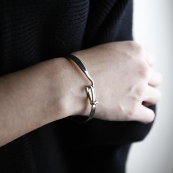 【Georg Jensen 喬治傑生】#204 TORUN 朵蘭設計 純銀手環