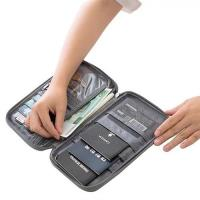 多功能護照票夾收納包 證件夾 旅行必備收納包
