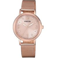 CITIZEN WICCA 瑪格麗特花漾廣告款女錶(KP5-166-91)30mm