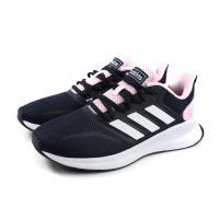 adidas RUNFALCON 慢跑鞋 運動鞋 深藍/粉紅 女鞋 EF0152 no749