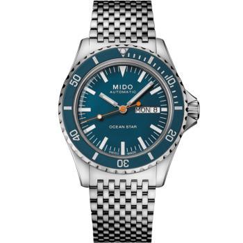 MIDO 美度 75週年200米潛水機械錶(M0268301104100)41mm