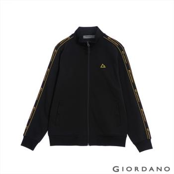 GIORDANO  男裝G-MOTION品牌LOGO運動外套-31 標誌黑