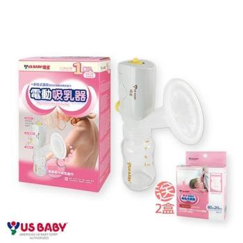優生電動式吸乳器(贈-母乳冷凍袋60mlx20入/2盒)