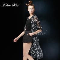 CHENG DA 春夏專櫃精品時尚流行長版罩衫 NO.021923