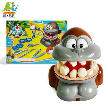 Playful Toys 頑玩具 動物牙醫黏土組 DR002 (創意黏土 動物黏土 牙醫遊戲 DIY手作 教育黏土 手作黏土 頑玩具)