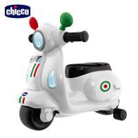 【買就送迴力車】chicco-偉士牌摩托滑步車-紅/粉紅