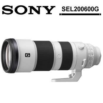 SONY FE 200-600mm F5.6-6.3 G OSS(SEL200600G) (公司貨)