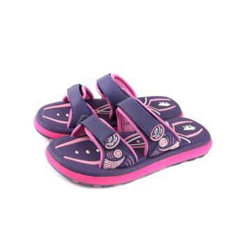 三帆(G.P副牌) 拖鞋 防水 雨天 紫/粉 中童 童鞋 S6252B-41 no352
